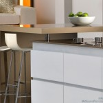 kitchen-cabinets-modern-white-085c-sdn003-light-brown-quartz-countertops-island-bar-stools